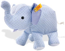 click to see Steiff 's Little Circus Elephant in detail