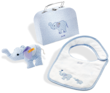 click to see Steiff  Little Circus Elephant Gift Set in detail