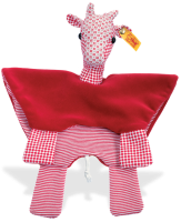 click to see Steiff  Little Circus Giraffe Comforter in detail