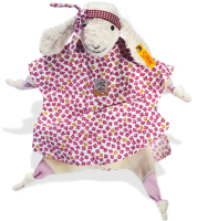 click to see Steiff  Bedtime Lamb Comforter in detail