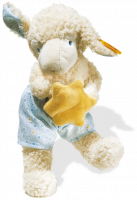click to see Steiff  Lamb Holding A Bright Yellow Star in detail