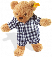 click to see Steiff  Sleep Well Teddy Bear (blue) in detail