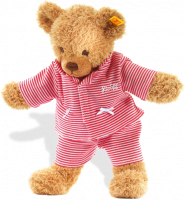 click to see Steiff  Sleep Well Bear (red) in detail