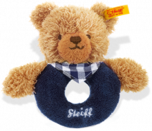 click to see Steiff  Sleep Well Grip Toy With Rattle in detail