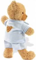 click to see Steiff  Sleep Well Bear (blue) in detail