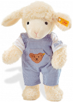click to see Steiff  Sweet Dreams Lamb (blue) in detail