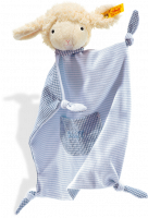 click to see Steiff  Sweet Dreams Lamb Comforter (blue) in detail