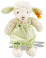click to see Steiff  Lenny Lamb Teddy Bear in detail