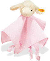 click to see Steiff  Sweet Dreams Lamb Comforter (pink) in detail