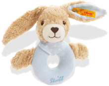 click to see Steiff  Hoppel Rabbit Grip Toy Teddy Bear in detail