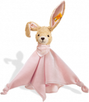 click to see Steiff  Hoppel Rabbit Comforter in detail