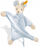 click to see Steiff  Sniffy Mouse Comforter in detail