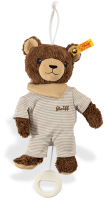 click to see Steiff  Bear Basti Music Box in detail