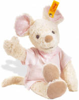 click to see Steiff  Sniffy Mouse (pale Pink) in detail