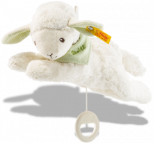 click to see Steiff  Bear Lenny Musical Lamb in detail