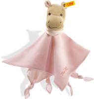 click to see Steiff  Mockyli Hippo Comforter - A Member Of The Hippo Range in detail