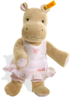 click to see Steiff  Mockyli Hippo (pink) in detail