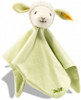 click to see Steiff  Lenny Lamb Comforter Teddy Bear in detail