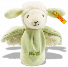 click to see Steiff  Teddy Lenny Lamb Grip Toy in detail