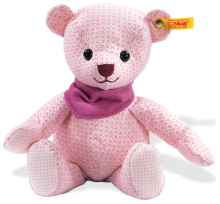 click to see Steiff  Little Circus Pink Teddy Bear in detail