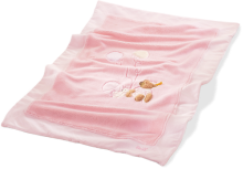 click to see Steiff  Sleep Well Pink Cuddly Blanket in detail