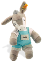 click to see Steiff  Issy Donkey in detail