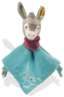 click to see Steiff  Issy Donkey Comforter in detail