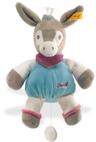 click to see Steiff  Issy Donkey Music Box in detail