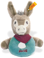 click to see Steiff  Issy Donkey Grip Toy in detail