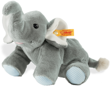 click to see Steiff  Floppy Trampili Elephant Heat Cushion in detail