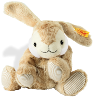 click to see Steiff  Floppy Hoppel Rabbit Heat Cushion in detail