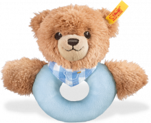 click to see Steiff  Sleep Well Teddy Bear Grip in detail