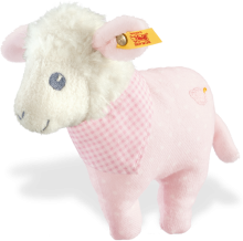 click to see Steiff  Sweet Dreams Lamb Rattle in detail