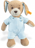 click to see Steiff  Teddy Good Night Dog in detail