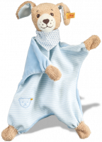 click to see Steiff  Good Night Dog Comforter Teddy Bear in detail