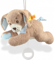 click to see Steiff  Teddy Good Night Dog Music Box in detail
