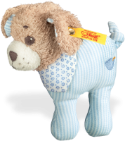 click to see Steiff  Good Night Dog Rattle in detail