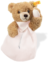 click to see Steiff  Sleep Well Teddy Bear Heat Cushion in detail
