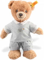 click to see Steiff  Grey Sleep Well Teddy Bear in detail