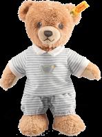 click to see Steiff  Grey Sleep Well Teddy Bear in detail