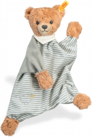 click to see Steiff  Teddy Grey Sleep Well Comforter in detail