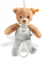 click to see Steiff  Bear Grey Sleep Well Music Box in detail