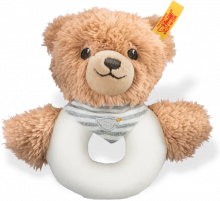click to see Steiff  Teddy Grey Sleep Well Grip in detail