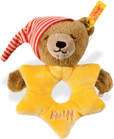 click to see Steiff  Sun, Moon & Star Grip Toy in detail