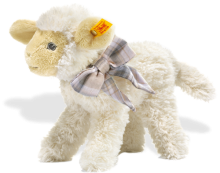 click to see Steiff  Little Baby Lamb Linda in detail