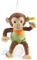 click to see Steiff  Teddy Jocko Monkey With Music Box in detail