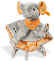 click to see Steiff  Trampili Elephant Comforter in detail