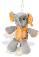 click to see Steiff  Trampili Elephant Music Box in detail