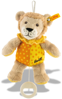 click to see Steiff  Teddy Lion Music Box in detail