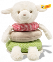 click to see Steiff  Bear Stacking Lambaloo Lamb in detail